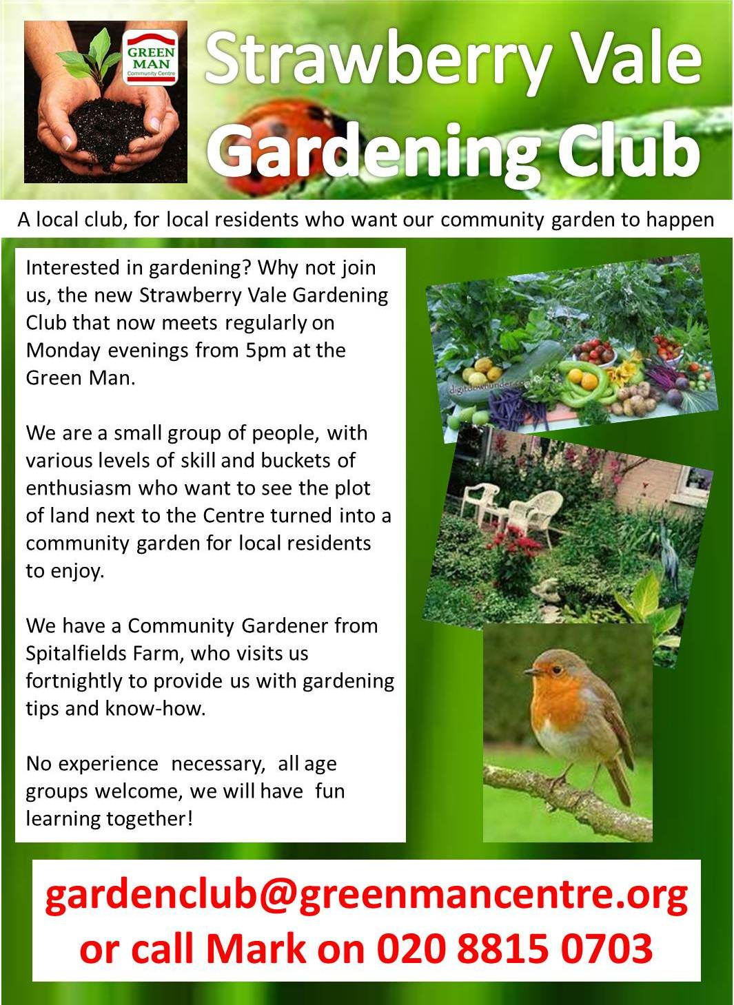 Green Man Community Centre Strawberry Vale East